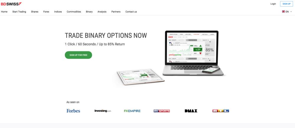 BDswiss binary