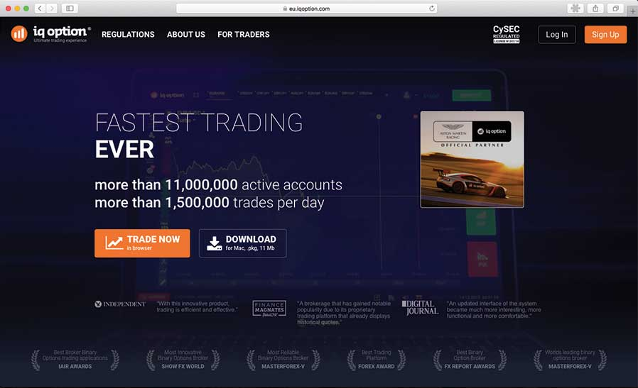 Binary options low deposit brokers