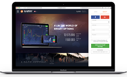 IQ Option Website